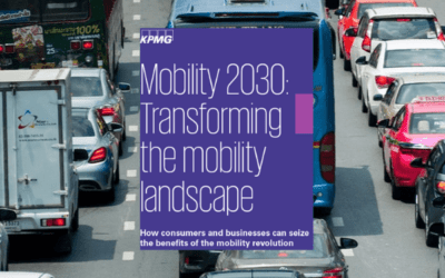 KPMG: Mobility 2030; transforming the mobility landscape (2019)