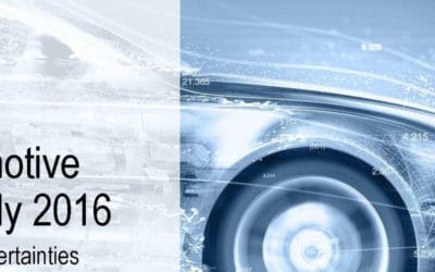 Roland Berger: Global automotive supplier study 2016