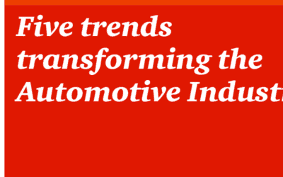 PWC: 5 trends transforming the automotive industry (2018)