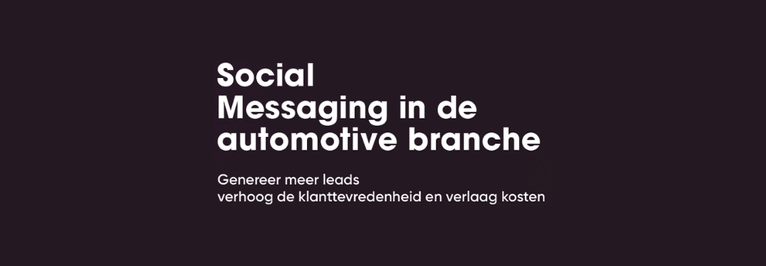SaySimple: Social Messaging in de automotive branche 2020 (2020)